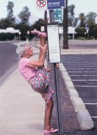 oldlady yoga