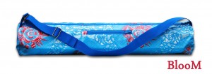 BLooM Yoga Bags - FlowerLee collection - blue- red