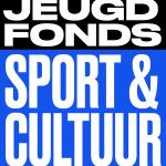 Logo Jeugdfonds Sport Cultuur,